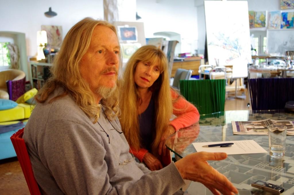 Beltracchi mit seiner Frau