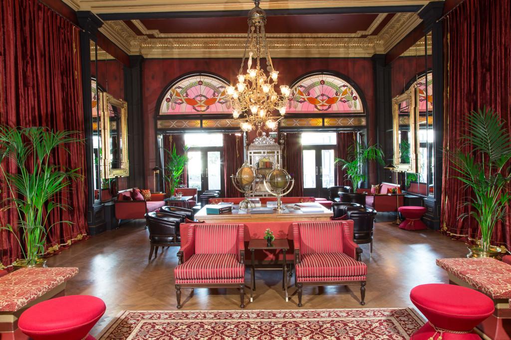 Der Kutuphaneli Salon des Pera Palace Hotel Jumeirah
