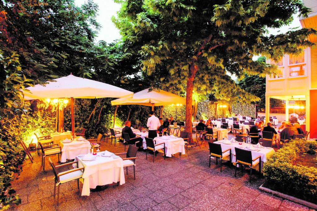 Das legendäre Asitane Restaurant