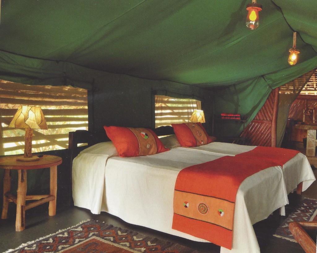 Im Zelt und doch der pure Luxus der Natur