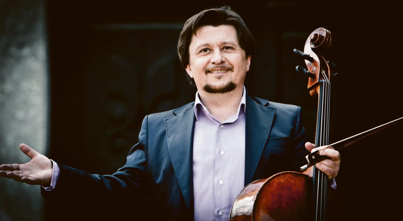 Mit dem Cellisten Friedrich Kleinhapl verbindet die HYPO Steiermark eine langjährige Kulturpartnerschaft.
