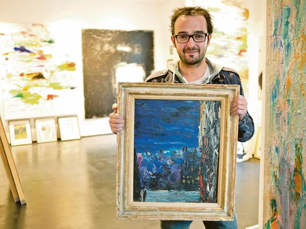 Galerist Helmi Mubarak