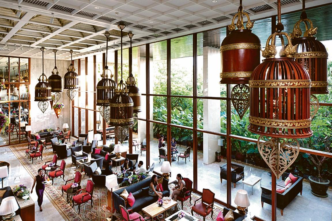 Atemberaubend: Die Lobby
