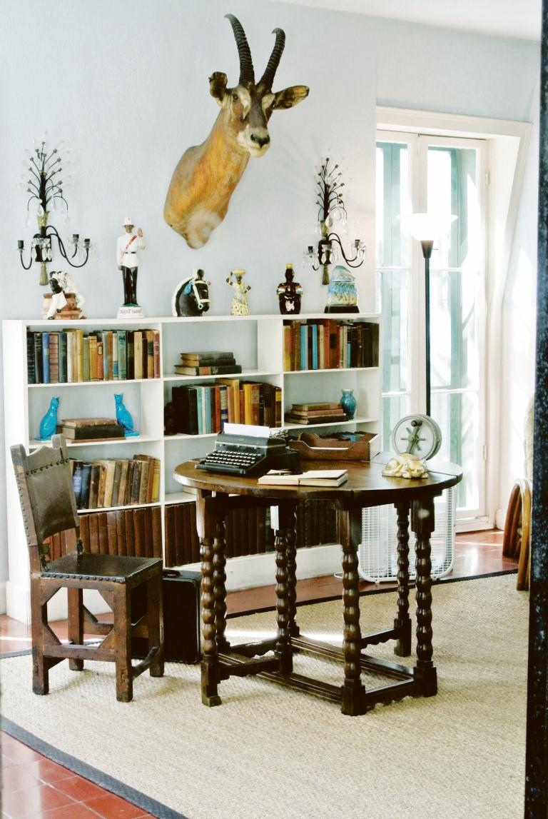 Hemingways Arbeitszimmer