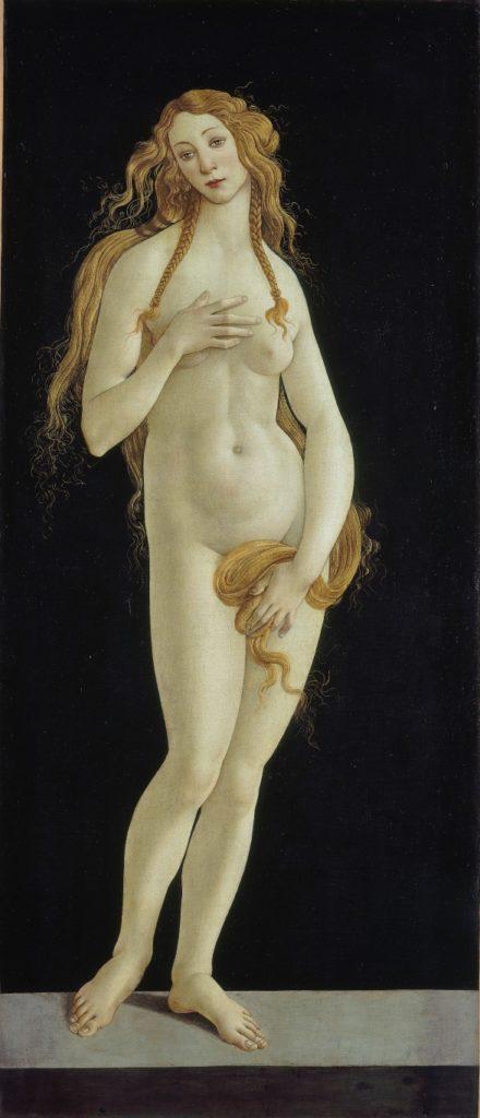 """Sandro Botticelli Werkstattwiederholung der Venus in der """"Geburt der Venus"""" aus den Uffizien in Florenz. Foto: Volker H. Schneider"""