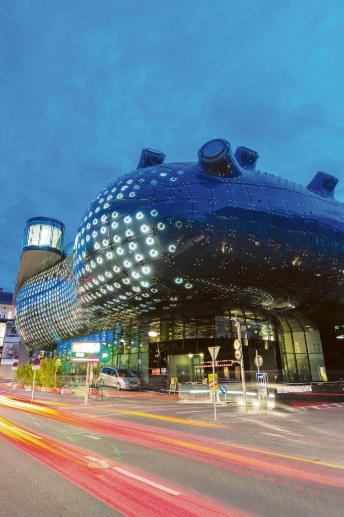 Das Kunsthaus bei Nacht