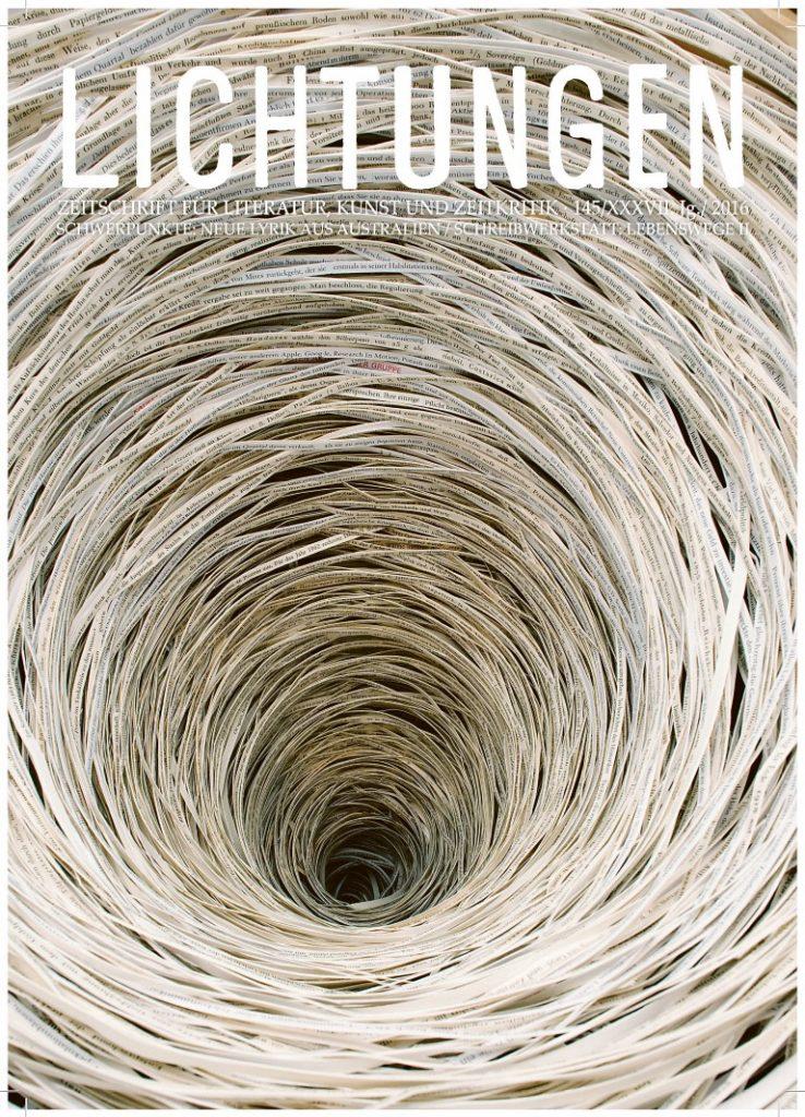 LICHTUNGEN, Ausgabe 145