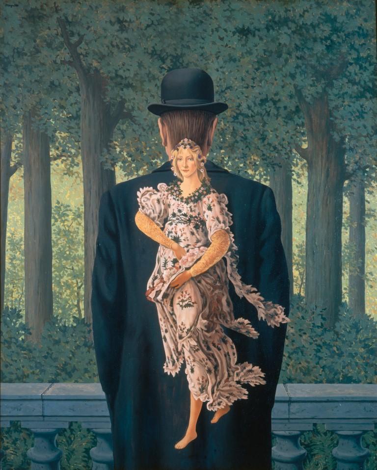 Rene Magritte Le bouquet tout fait Osaka City Museum of Modern Art