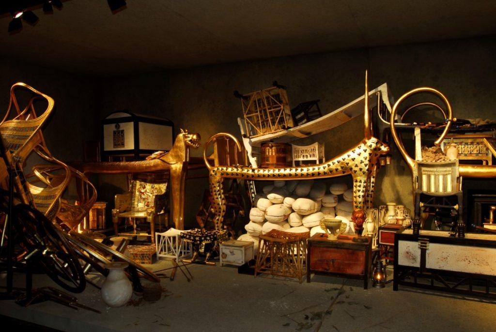Detailgetreue Nachbildung der Totenkammer