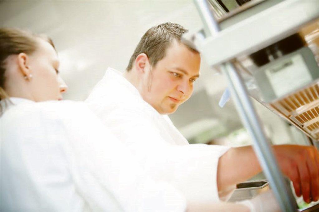 Küchenchef Johannes Fuchs