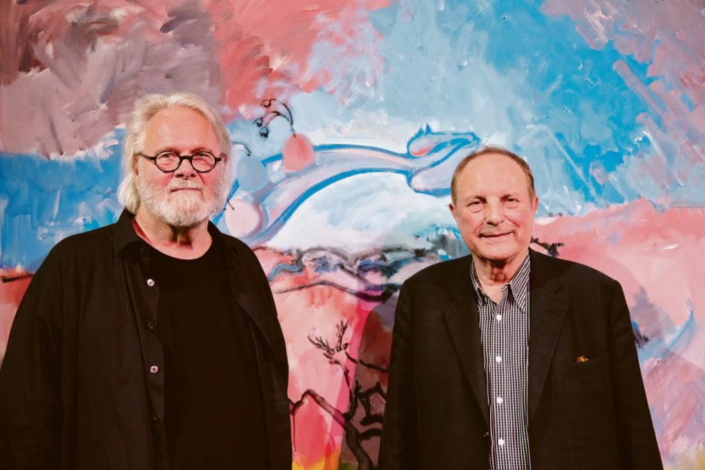 Gerhard Roth und Christian Ludwig Attersee