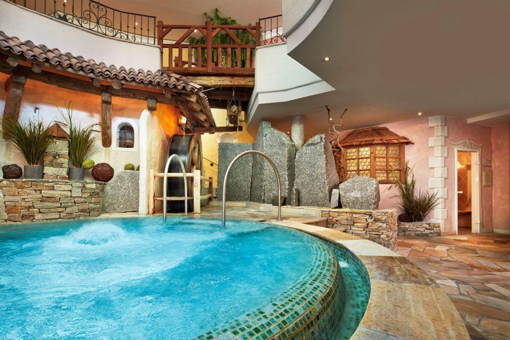 3000m² Spa im Hotel Jagdhof