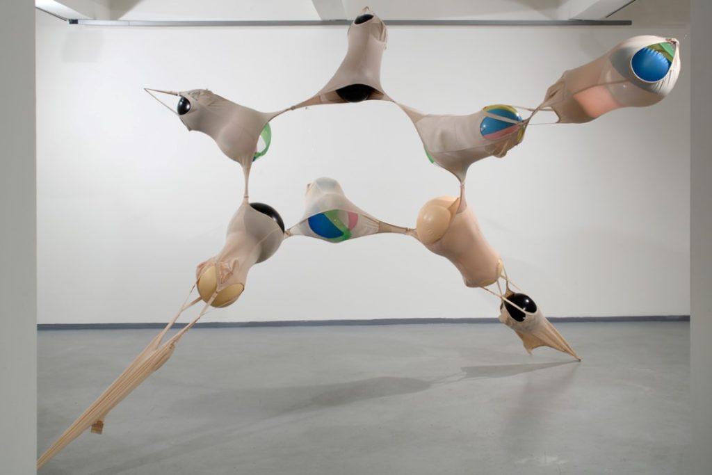 "Ausstellungsansicht ""Bittersüße Transformation"" Kateřina Vincourová, From Inside Out, 2006 Courtesy der Künstlerin und Fait Gallery Foto: Martin Polák"