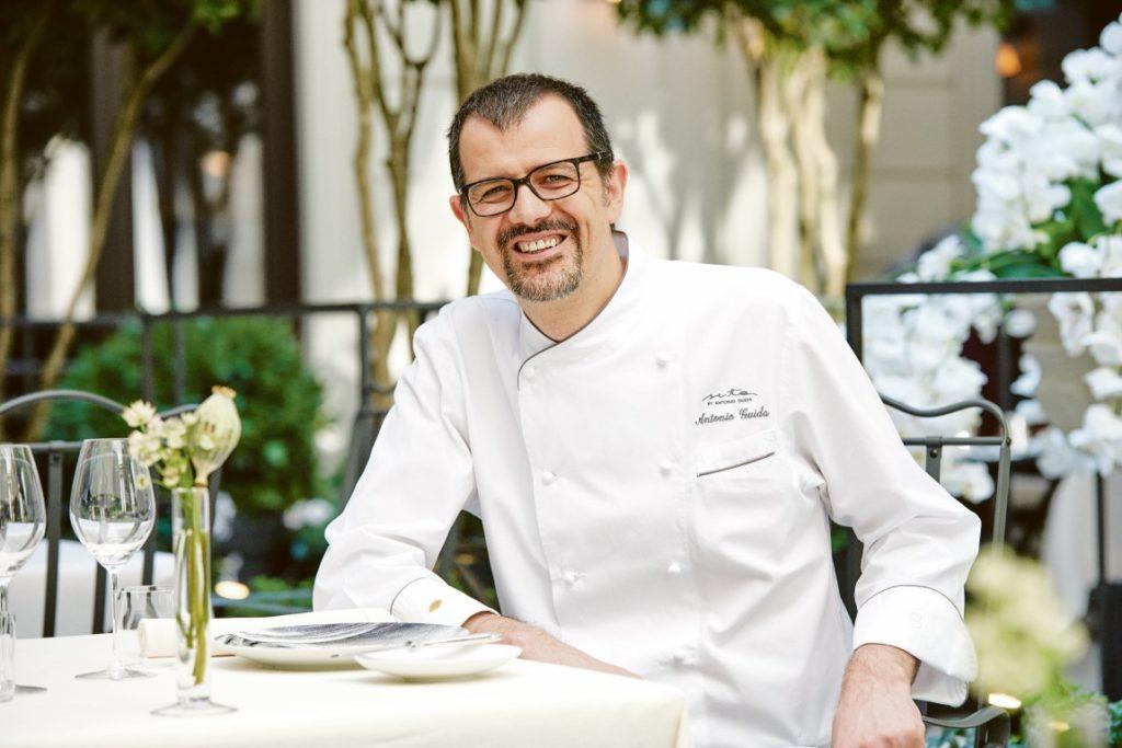 Küchenchef Antonio Guida