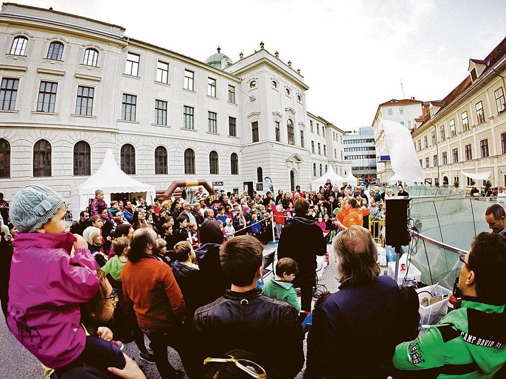 Wie jedes Jahr wird auch am 5. Oktober wieder großer Andrang beim Grazer Weltraumtag herrschen.