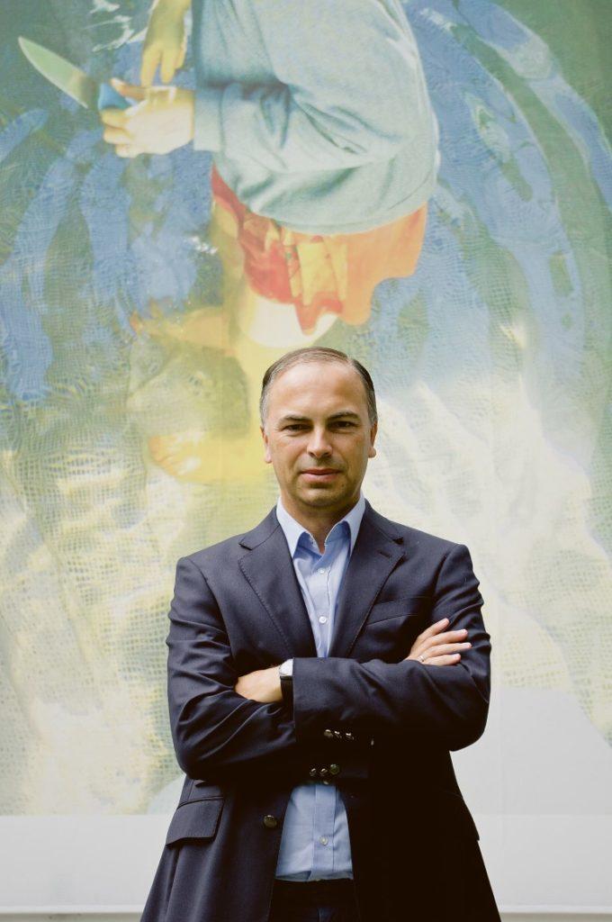 Sandro Droschl, Intendant des Künstlerhaus. Halle für Kunst & Medien.
