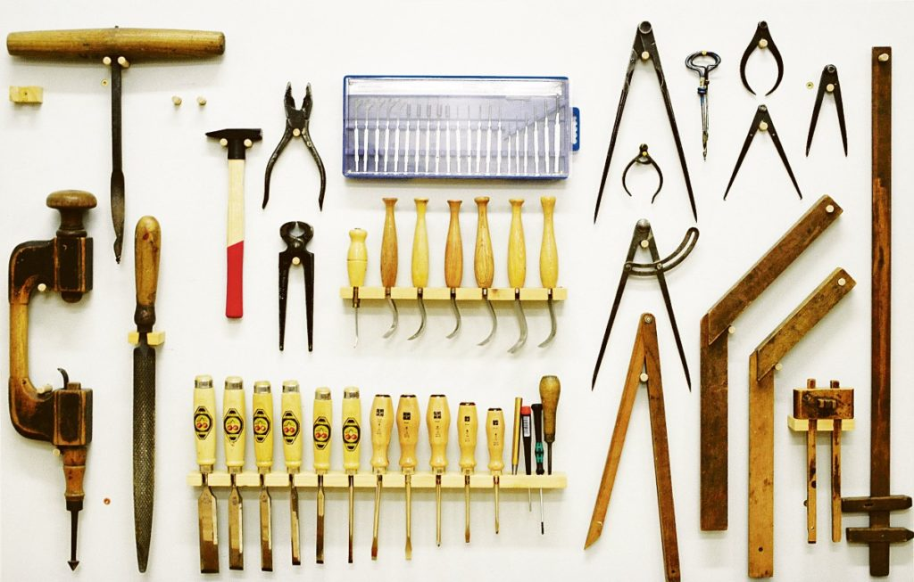 Werkzeugwand Foto: V Delic