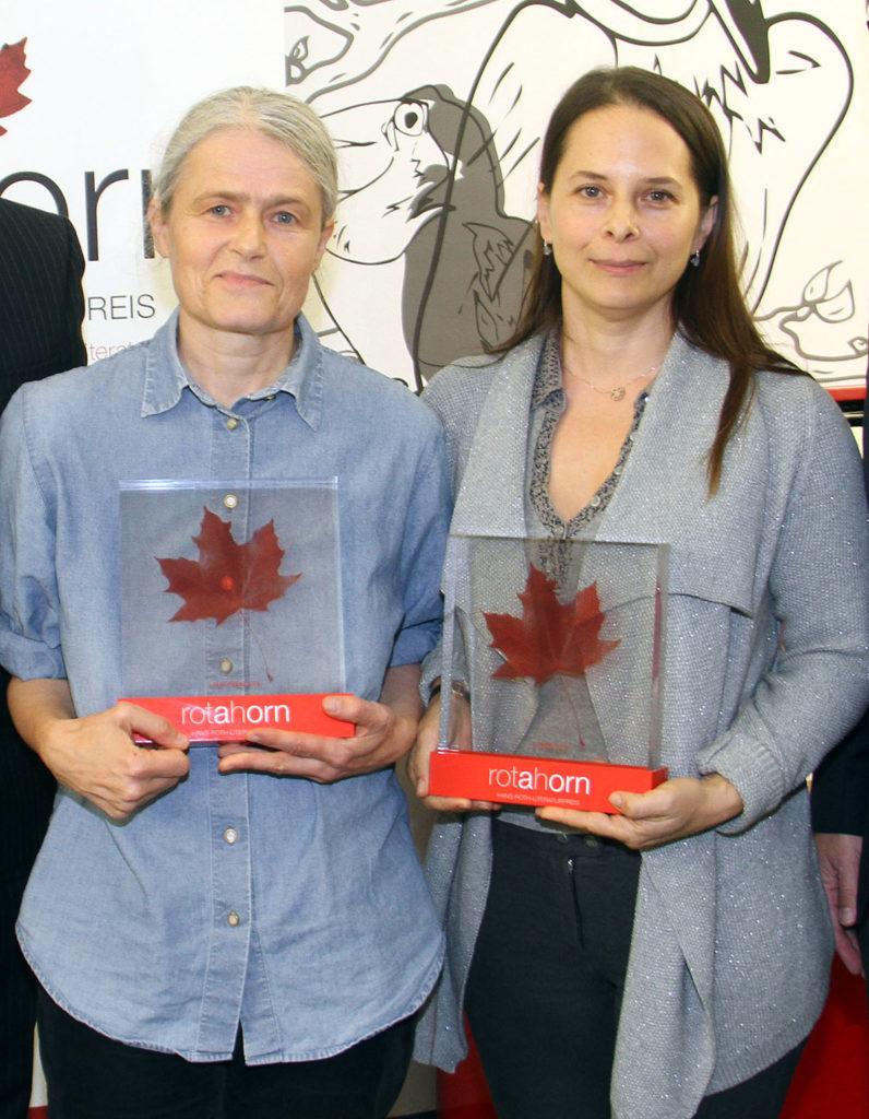 Ingeborg Horn (Hauptpreis) und Anna Baar (2. Preis) (v.l.n.r.)