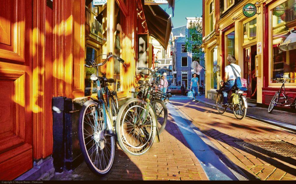 Fahrräder: In Amsterdam allgegenwärtig!