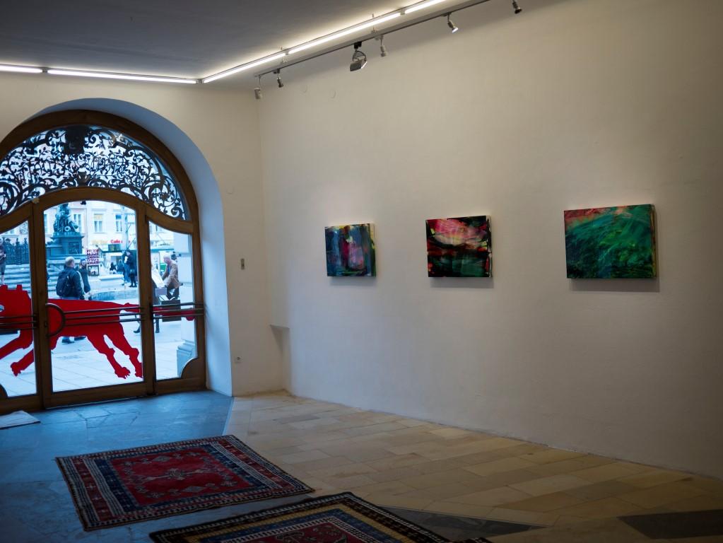 Brandls Arbeiten in der Grazer Galerie Reinisch Contemporary