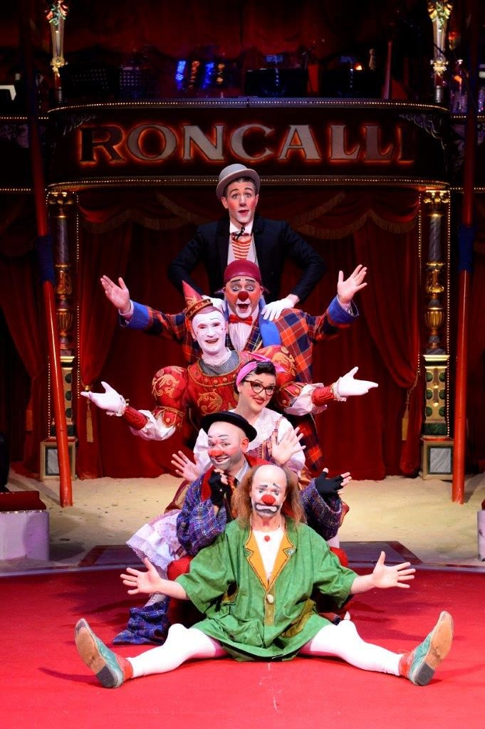 Die Roncalli Royal Clown Company