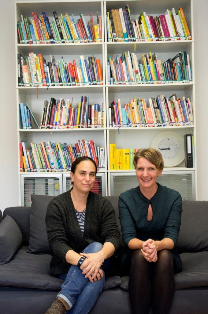 Die Autorinnen Bettina Deutsch-Dabernig und Nikola Köhler-Kroath.