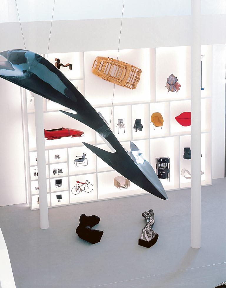 Design in der Pinakothek der Moderne.