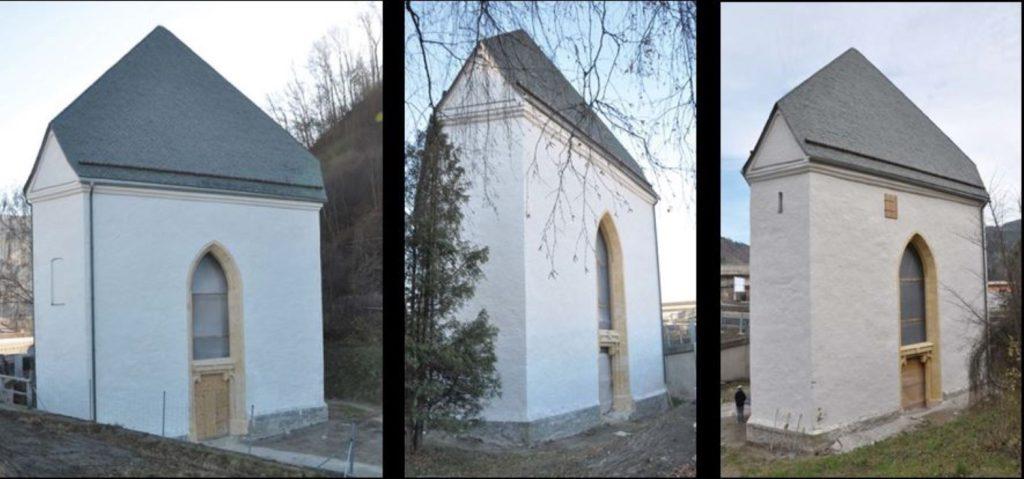Die Heiligen-Geist-Kapelle in Bruck
